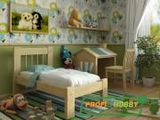 Кровать Дачная (детская) Интерьер