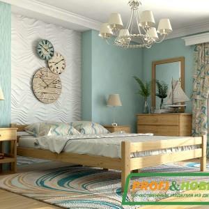 Кровать Классика двуспальная (в интерьере)