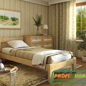 Кровать Дачная (односпальная) интерьер